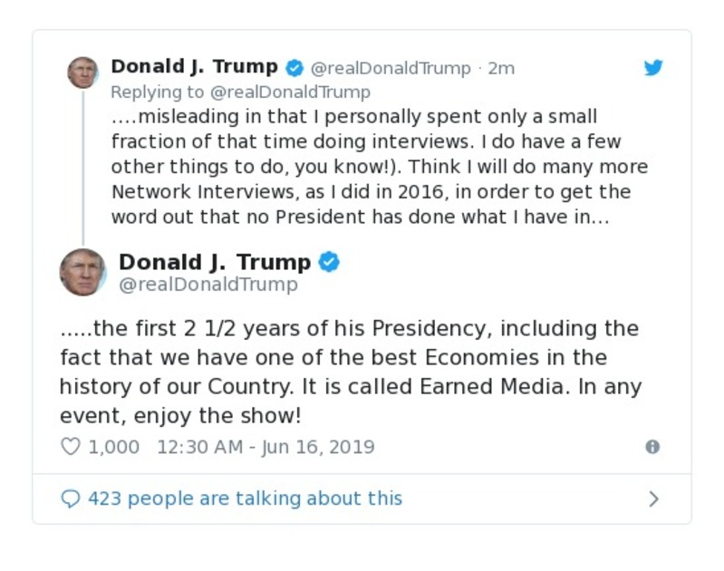 921a2be96d51e Donald Trump Deleted Tweets Twitter | Factbase