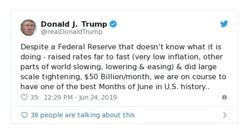 f4df55bff8858 Despite a Federal Reserve that doesn't know what it is doing - raised rates  far to fast (very low inflation, other parts of world slowing, ...