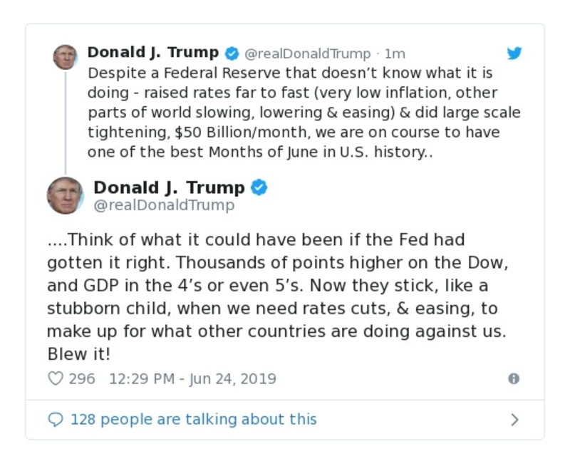 c8864e6ed8e67 Stock Market is on track to have the best June in over 50 years! Thank you  Mr. President! @WallStreetJour