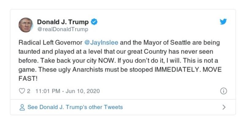 Donald Trump Deleted Tweets Twitter   Factbase