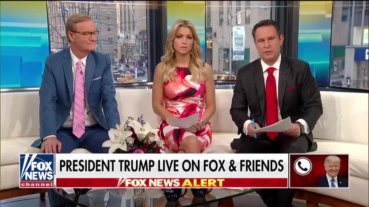 Transcript Quote - Interview: Donald Trump Calls In to Fox and