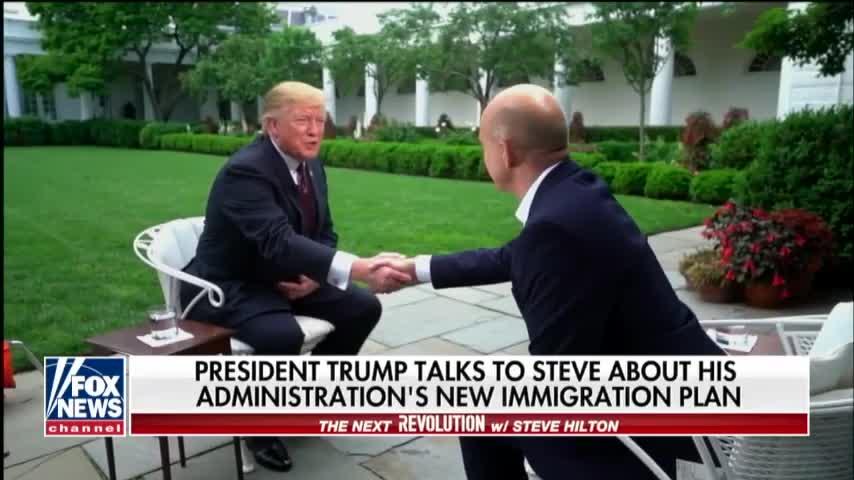 Transcript Quote - Interview: Steve Hilton Interviews Donald