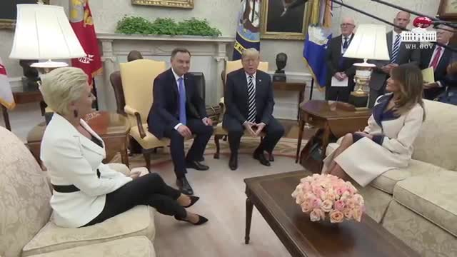 Transcript Quote Remarks Donald Trump Greets Andrzej Duda Of Poland In The Oval Office September 18 2018 Factbase
