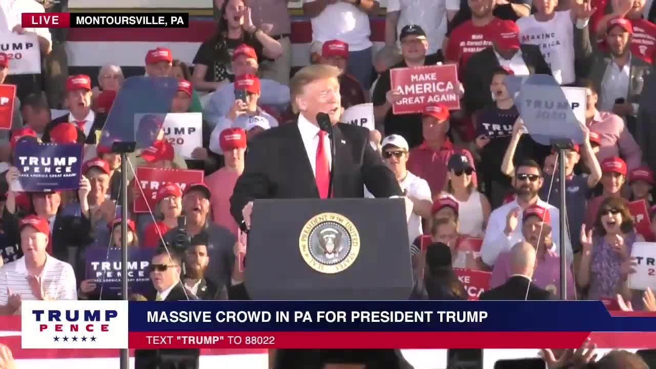 Transcript Quote - Speech: Donald Trump Holds a Political Rally in