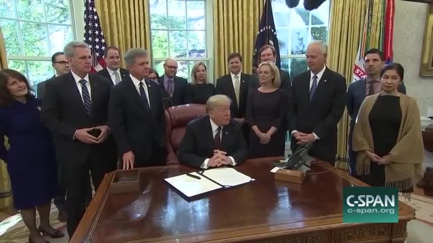 Transcript Quote - Remarks: Donald Trump Signs a