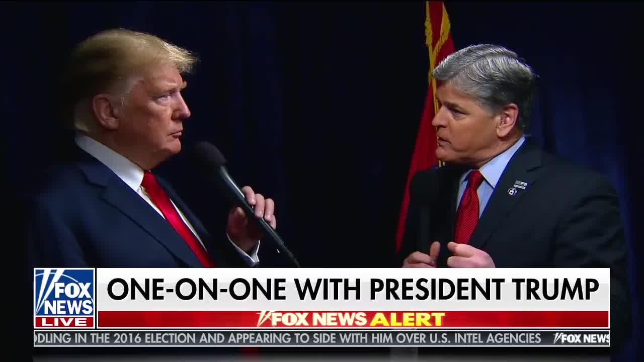 Transcript Quote - Interview: Sean Hannity Interviews Donald