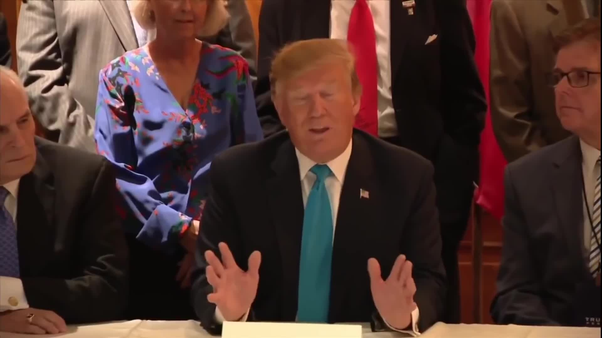 Trump Round Table.Transcript Quote Remarks Donald Trump Holds A Roundtable With