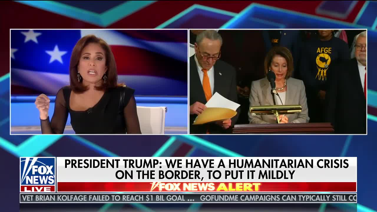 Transcript Quote - Interview: Jeanine Pirro with Donald